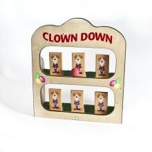 Clown Down Toss Game