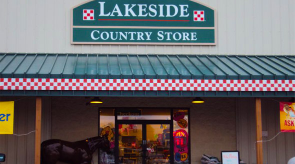 Lakeside Store Front