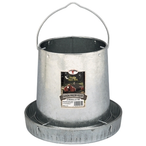 Little Giant Galvanized 12 Lb. Hanging Poultry Feeder