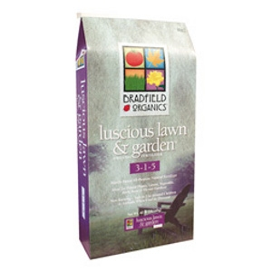 Luscious Lawn & Garden™ 3-1-5 Natural Fertilizer