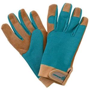 Wells Lamont Women's Suede Gardening Gloves