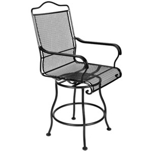 O.W. Lee Heatland Swivel Rocking Dining Chair