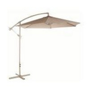 Bond 10' Taupe Offset Umbrella