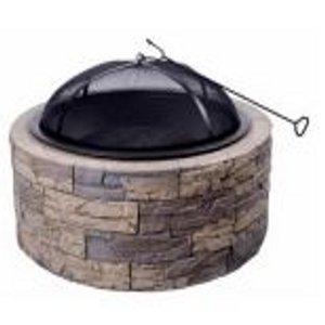 Shinerich IND. LTD Cast Stone Round Fire Pit