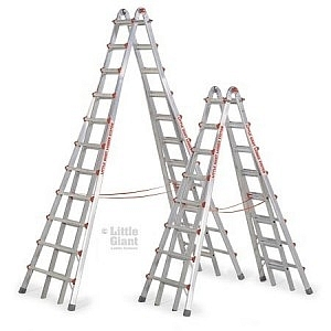 Little Giant Step Ladder 9' - 17'