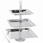 3 TIER DISPLAY TRAY, SQUARE