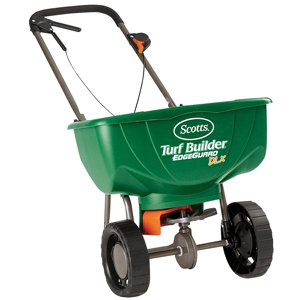 Scotts Turf Builder Deluxe Edgeguard Spreader