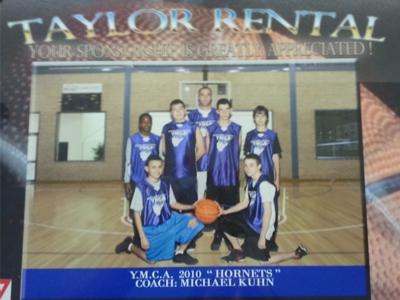 2010 Basketball Team-