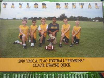 2010 Flag Football Team-