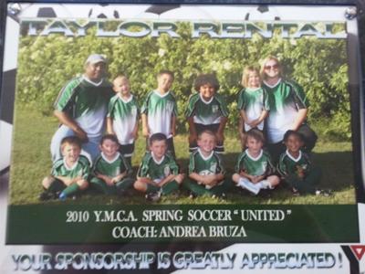 2010 Spring Soccer Team-