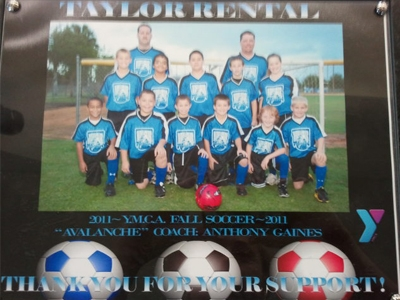 2011 Fall Soccer Team-