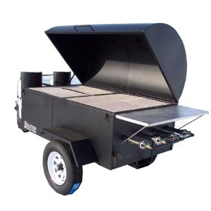 Southern Style Towable BBQ Grill By Holstein Manufacturing