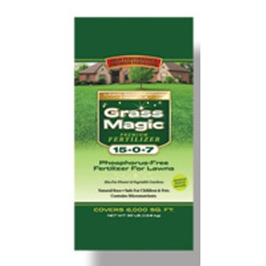Grass Magic Lawn Fertilizer 15-0-7