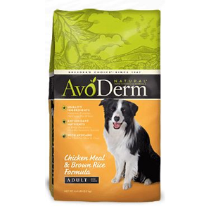 AvoDerm® Chicken and Rice Formula