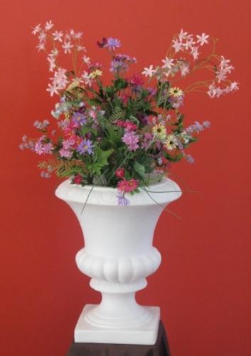 Large Flower Urn