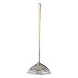 Green Thumb 24-Inch Poly Leaf Rake