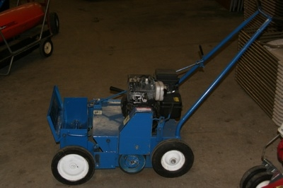 Bluebird Power Overseeder