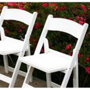 White Wedding Classic™ Folding Chairs