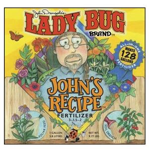 Lady Bug Brand John's Recipe Fertilizer