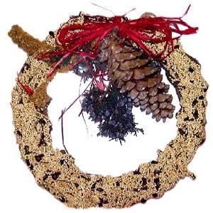 Mr. Bird Rustic Wreath