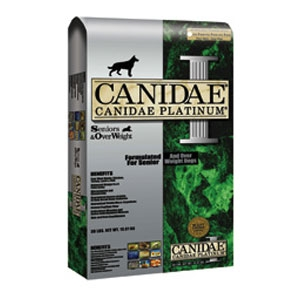CANIDAE® PLATINUM® Senior and Over Weight Formula