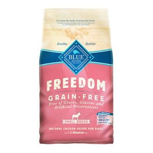 BLUE Freedom Grain-Free Chicken Recipe for Small Breed Adult Dogs
