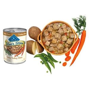 Blue's Stew Tasty Turkey Stew Canned Dog Food, 12.5 oz.