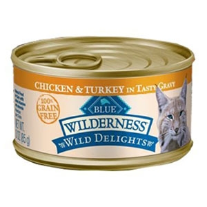 Wild Delights™ Chicken & Turkey Recipe for Adult Cats