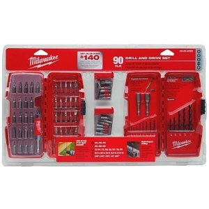 90-Piece Drill and Drive Set