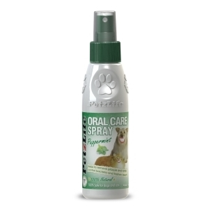 PetzLife Peppermint Oral Care Spray 4 Ounces