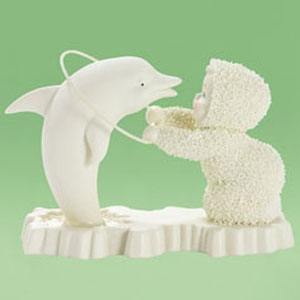 Department 56 Snowbaby Dolphin Tricks