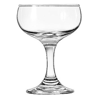 4 -1/2 oz Champagne Coupe/Saucer