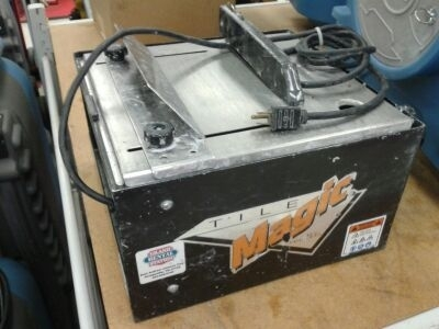 Tile Tablesaw by Magic