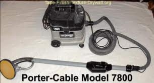 Drywall sander and vacuum, Porter Cable