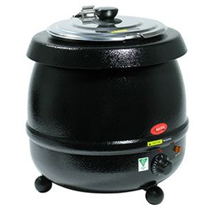 Soup Tureen Warmer, 11QT electric