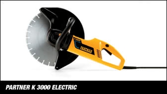 Electric cut off saw