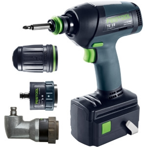 Cordless screwdriver TI 15, IMPACT