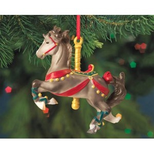 Prancer Carousel Horse Ornament - Melody