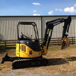 John Deere 27D ZTS Mini Excavator