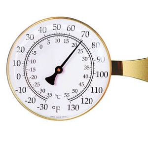 Weems & Plath Vermont Large Dial Thermometer
