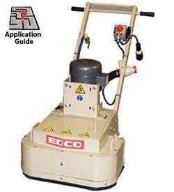 Edco 2EC Concrete Grinder