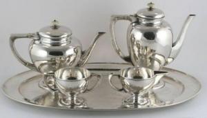 Silver Service Set