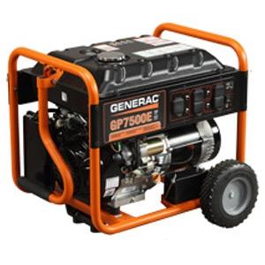Generac GP7500E Generator