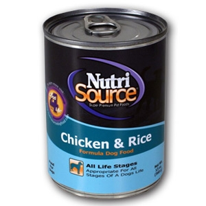 Nutri Source Canned Dog Food