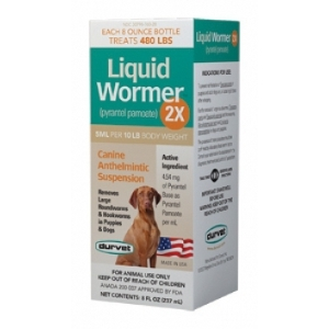Liquid Wormer 2X 2 Oz.