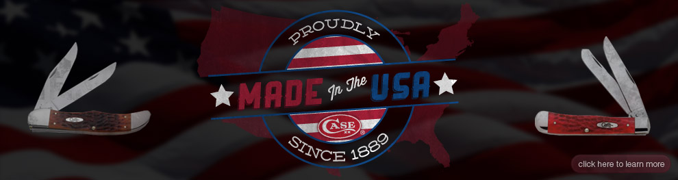 Case, proudly made in the USA since 1889
