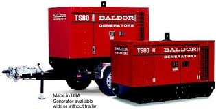 Baldor Towable Generator TS80