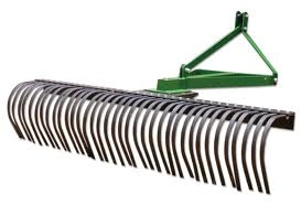 Tractor Rake Attachment