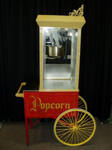 Gold Medal, Large Antique Popcorn Machine