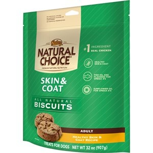 NATURAL CHOICE® Skin & Coat Adult Biscuits